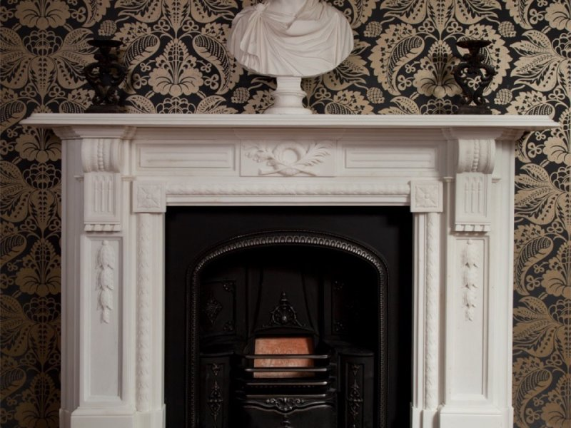 The-Ashley-marble-fireplace-by-Ryan-Smith